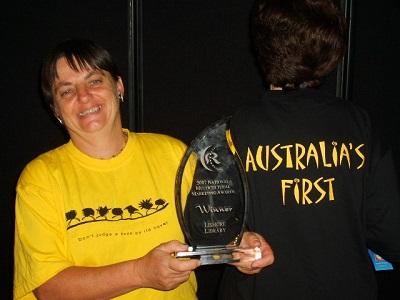 Lismore's Human Library Award